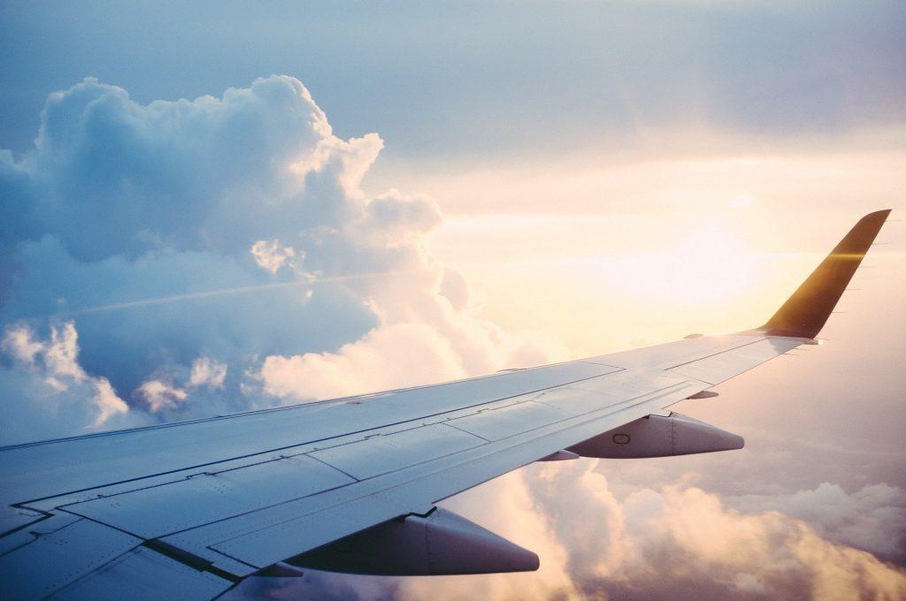 Vleugel vliegtuig